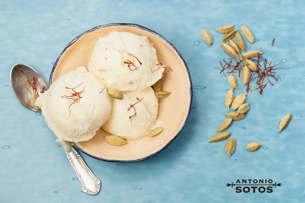 recette de la glace au safran AntonioSotos