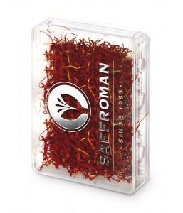 Safran en filaments Saffroman – 2g – Boîte en plastique