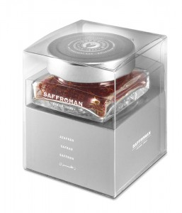 Azafrán Saffroman Platino– 1 gramo – Pack tarro de cristal
