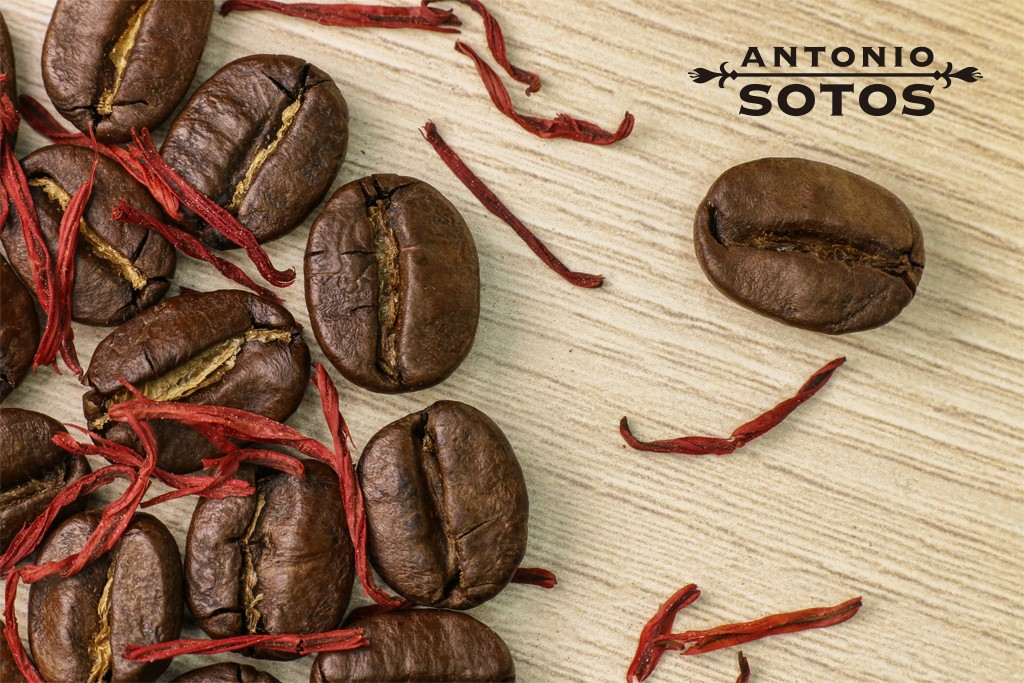 cafe avec du safran