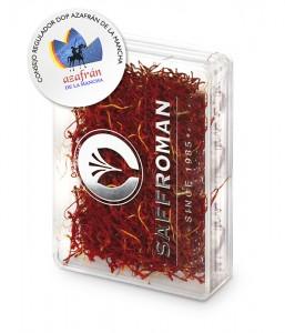 Azafran Saffroman Caja Plástico 4g.