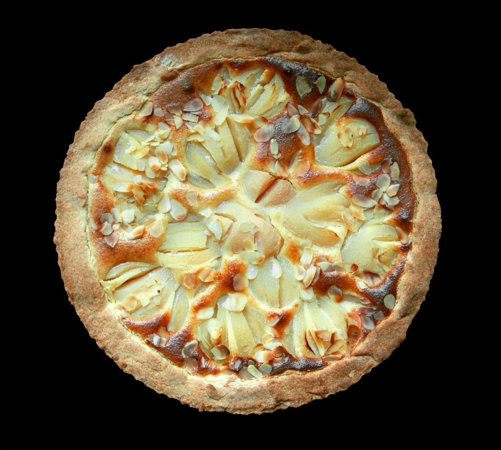 Pear tart recipe saffron