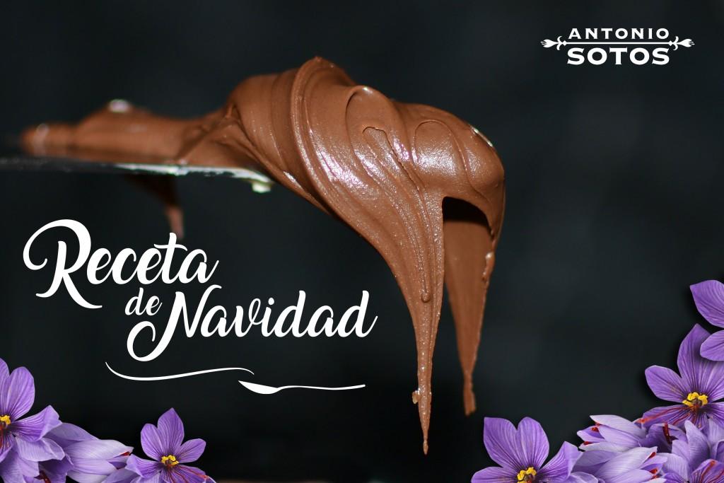 Saffron chocolate nougat recipe