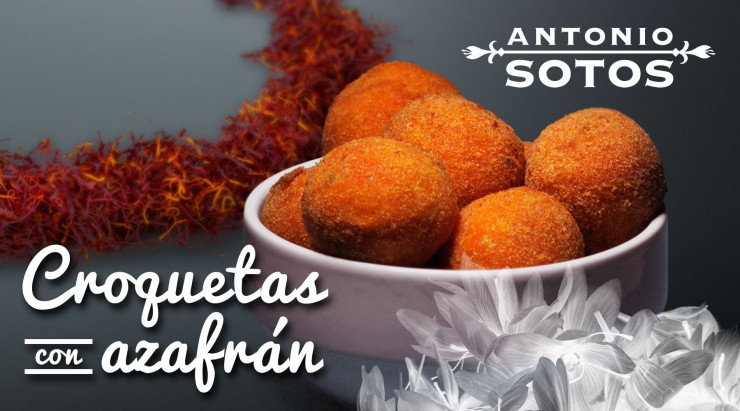 Croquettes with saffron