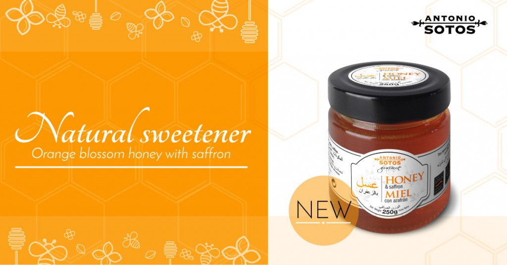 Learn about orange blossom honey with saffron