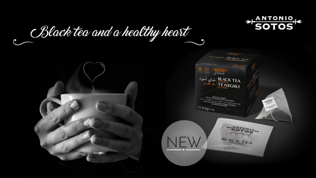the benefits of black tea with saffron