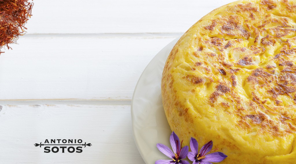 Spanish Omelette with Saffron