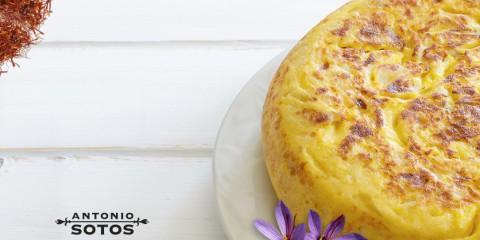 Tortilla Española con Azafrán