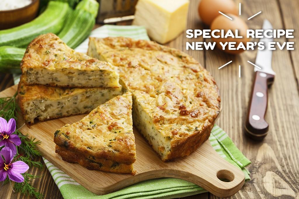Warm Saffron Zucchini Saffron Cake