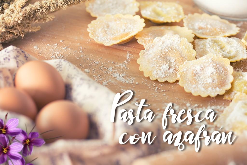 Pasta Fresca con Azafrán