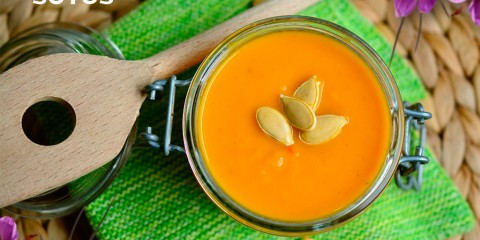 Creamy Carrot and Saffron Soup, shall we add a hint of citrus?