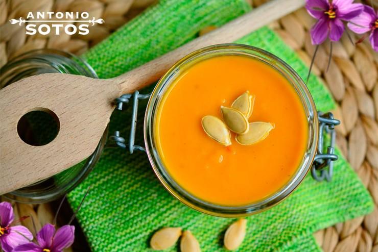 Crema de Zanahoria al Azafrán, ¿Le ponemos un toque cítrico?