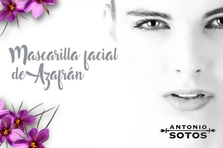 Mascarilla Facial de Azafrán para suavizar la piel