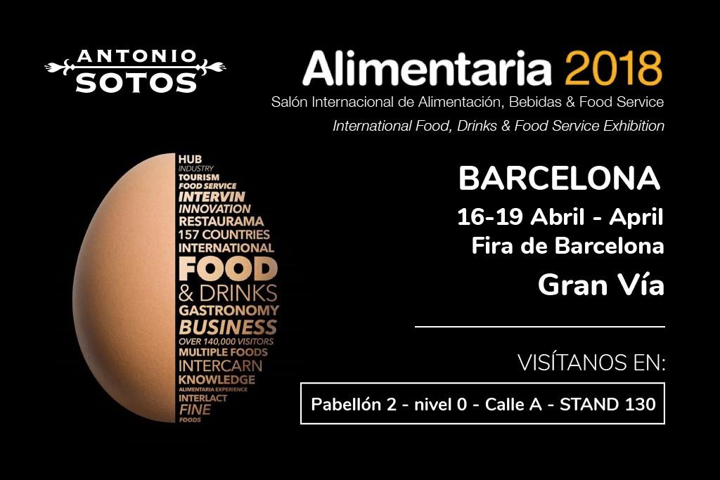 Antonio Sotos en Alimentaria 2018