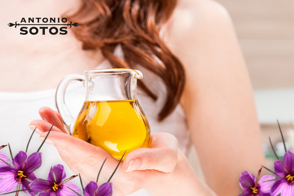 Los beneficios del aceite de azafrán para el cabello y la piel
