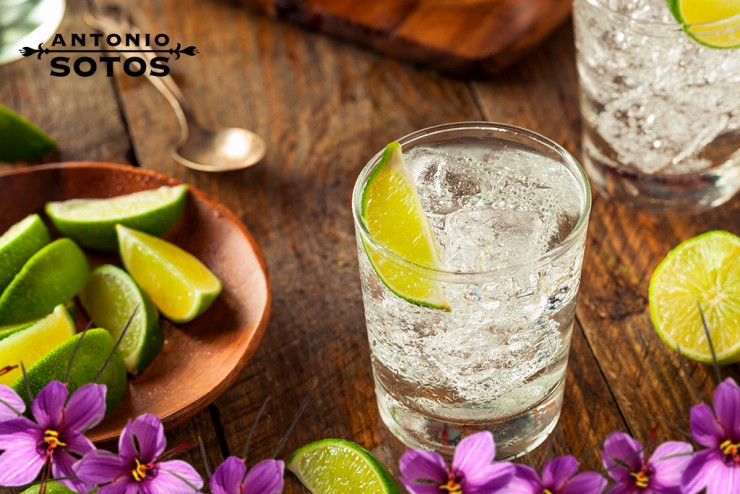 Saffron Gin Tonic or how to make this gin amazing