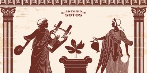 Apariciones del azafrán en la mitología griega