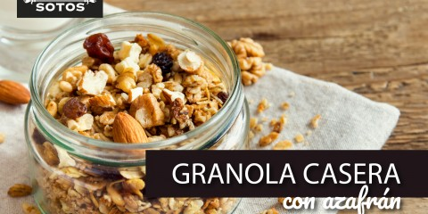Cómo hacer granola casera saludable aromatizada con azafrán
