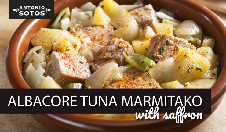 Albacore Tuna Marmitako (Basque fish stew), a culinary journey to the Basque Country
