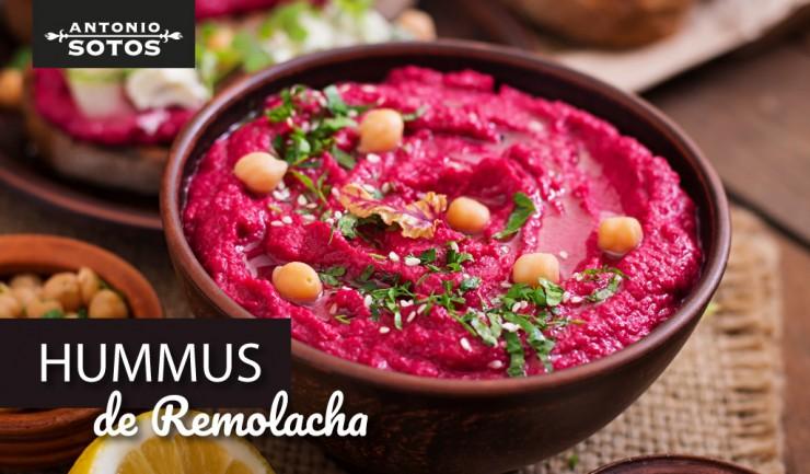 Aperitivo rápido: Hummus de remolacha