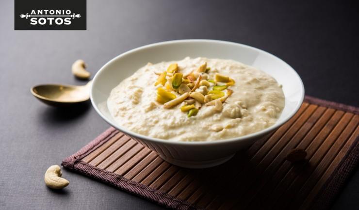 Rabri, el postre indio de leche condensada, frutos secos y azafrán