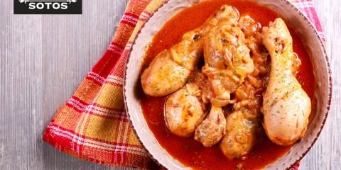 Saffron chicken stew