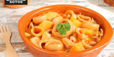 Saffron cuttlefish stew