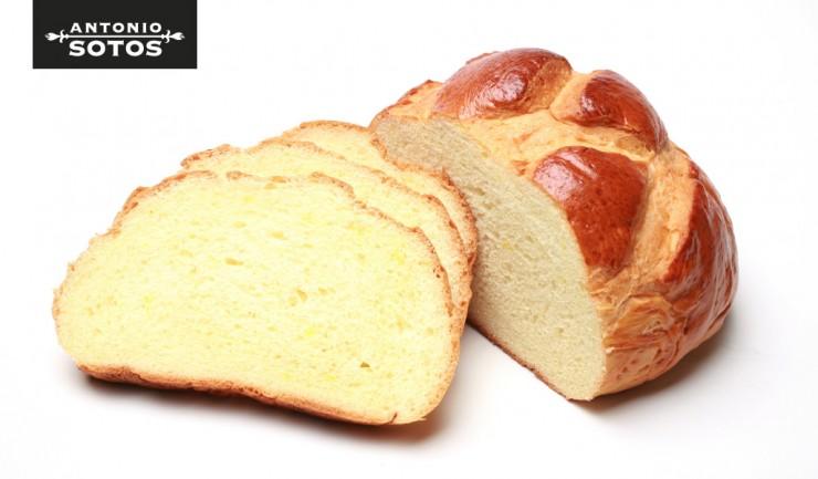 Cuchaule o pan suizo de azafrán paso a paso