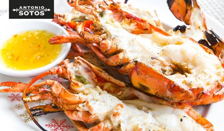 Christmas lobster, the Christmas star recipe