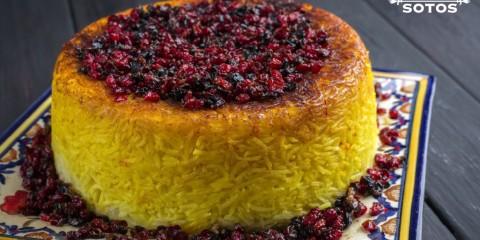 Tahdig o arroz con costra, una receta típica iraní